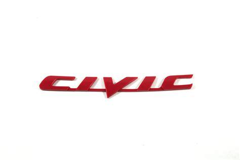 Emblem Civic Reviews Shopping Emblem - honda civic emblem logo decal sign badge 3d waterproof