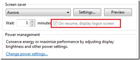 how to enable disable quot on resume display logon screen quot unlockforus
