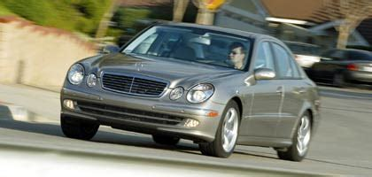 2003 mercedes benz e class e500 road test motor trend