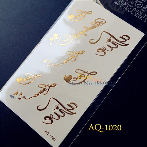 freedom letter designs waterproof temporary 1pc fashion waterproof temporary letter