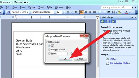 printing mailing labels from excel 2003 how to mail merge address labels using excel and word 14