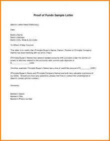 free proof of funds letter best business template