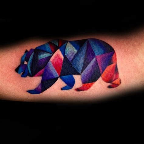 colorful geometric tattoos 60 geometric designs for manly ink ideas