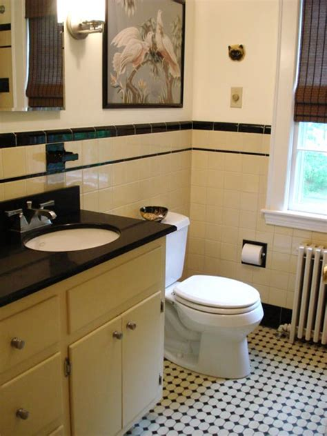 yellow and black bathroom terrific bathroom tile ideas from 12 reader bathrooms