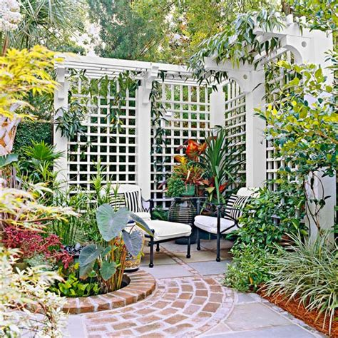 Gardening Trellis Ideas Trellis Design Ideas Trellises With Fences Or Screens Wraparound Shelter And Patio Privacy