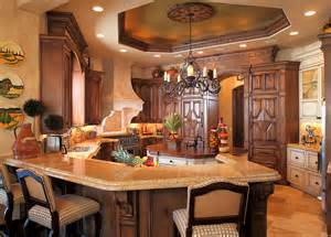Mediterranean Home Interior by A Look At Some Gourmet Kitchens Homes Of The Rich
