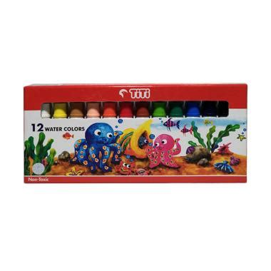 Cat Air Titi 24 Warna jual titi 12 water colors cat air harga