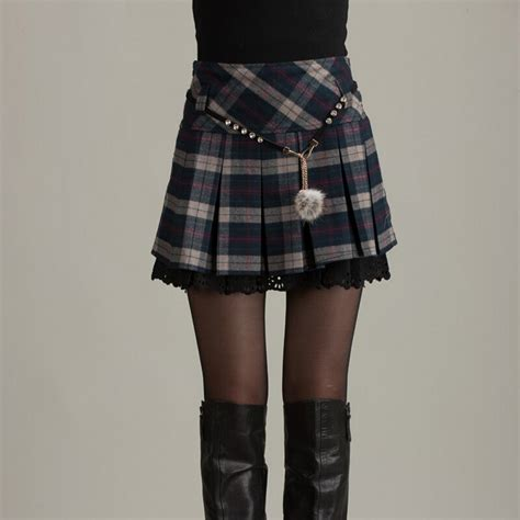 book of in plaid skirts in us by emily playzoa