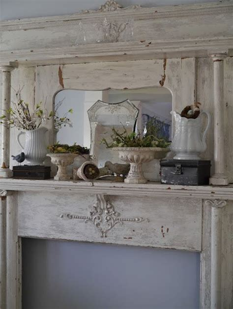chateau chic spring mantel for the home pinterest