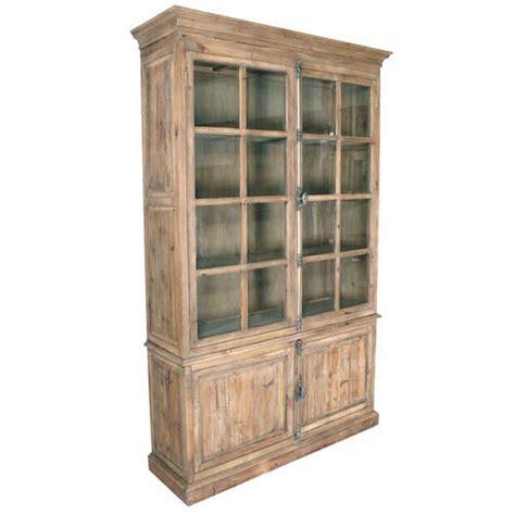 colori provenzali per mobili vetrina colore legno naturale mobili provenzali shabby chic