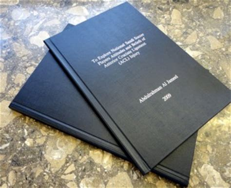 Black Book Project For Mba by Digital Inkjet Printing