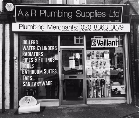 Plumbing Supplies Enfield by A And R Plumbing Catering For All Your Plumbing Needs