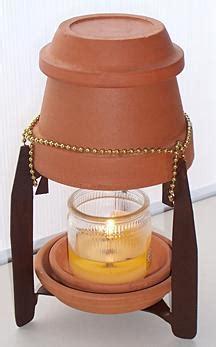 riscaldamento vasi terracotta a terracotta pot candle heater thriftyfun