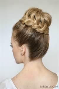 braid high bun sue