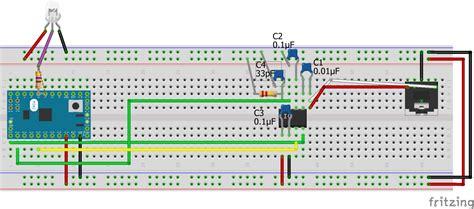 circuit city breadboard audio spectrum reactive neopixels in a pc hackster io