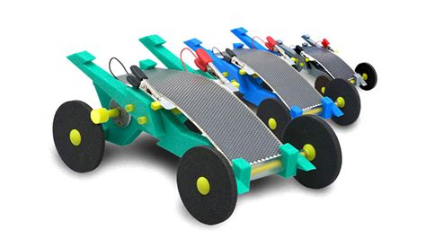 Space Craft Smallest Solar Powered Racing Car Green Murah volta racers solared powered cars teach about renewable energy inhabitots