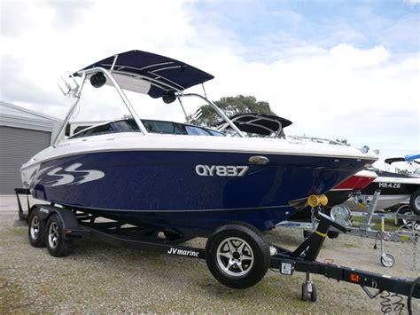 four winns boat marina used boat of the week four winns h220ss jv marine world