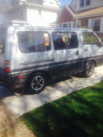 mitsubishi van 1988 1988 mitsubishi van wagon ls model original owner for
