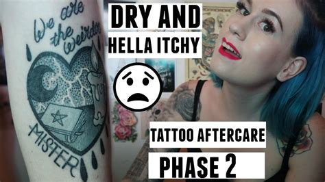 tattoo aftercare youtube tattoo aftercare phase 2 youtube