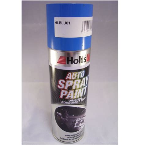 paint match hlblu01 holts paint match pro aerosol blue non metallic