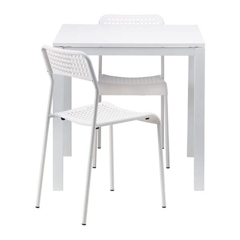 Small White Kitchen Table And Chairs - melltorp adde st 243 ł i 2 krzesła ikea
