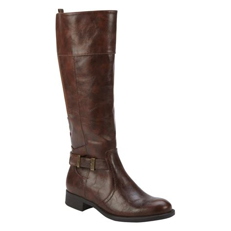 lands end s knee high brown boot
