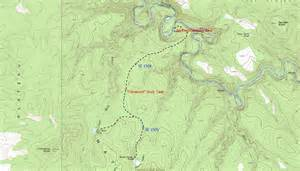 wooden crossing black river hiking arizona
