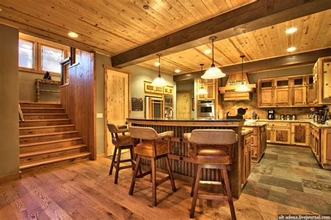 Home Floor Plans Texas mountain style home decorated in rustic style