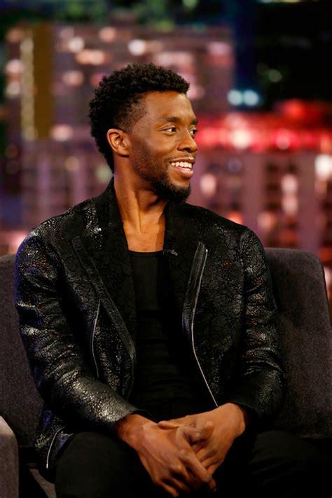 chadwick boseman stays  black panther style  jimmy