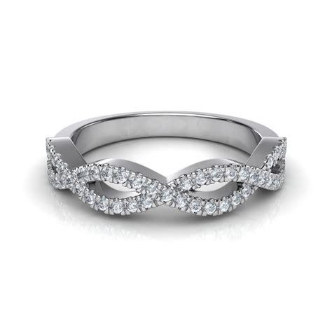 Wedding Rings Infinity Band by Infinity Design Wedding Band