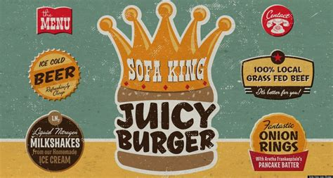 Sofa King Juicy Burger Menu Savae Org Sofa King Burger Menu