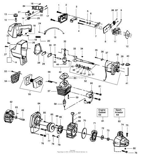 wacker fuel line diagram poulan gti19 gas trimmer parts diagram for power unit