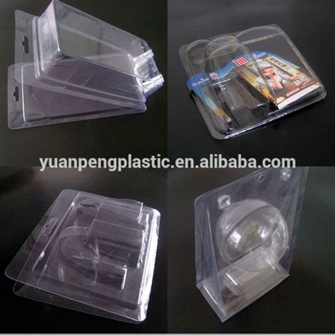 figure blister packaging custom clear plastic clamshell packaging with click