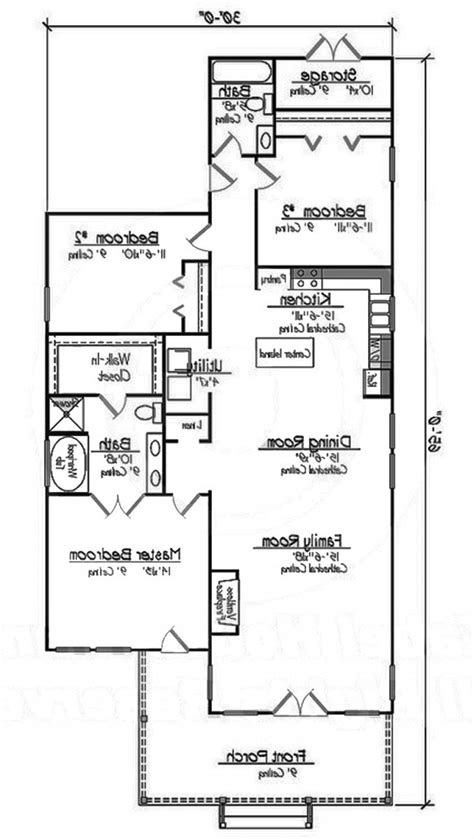 3 bedroom cottage floor plans home design 653489 small 3 bedroom 2 bath southern