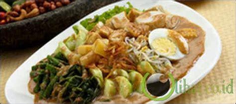 Gado Gado Cinta indonesia di mata dunia makanan indonesia yang terkenal