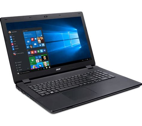 Laptop Acer Sekitar 3 Jutaan acer aspire es1 731 17 3 quot laptop black deals pc world