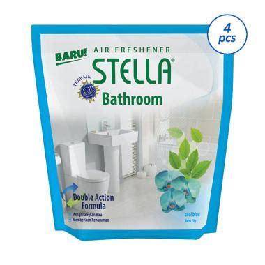 Stella Bathroom Cool Blue 70 Gram jual groceries stella bathroom cool pengharum blue 70