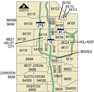 zip code map salt lake county zip codes by map of slc pictures to pin on pinterest