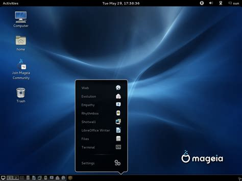 gnome panel themes image gallery mageia 3 screenshots