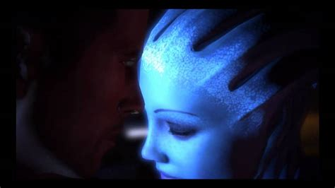 mass effect 3 romance scene liara youtube mass effect liara romance youtube