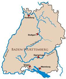 Baden Germany Map by Baden Wurttemberg Germany Map Related Keywords