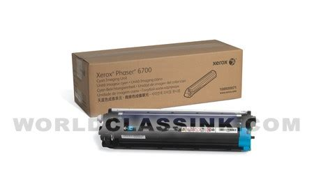 Drum Unit Fuji Xerox 108r00973 Phaser 6700 Yellow Original 1 xerox phaser 6700 imaging unit
