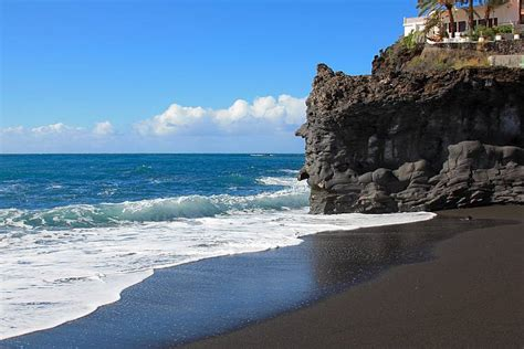 black beaches what is black sand sandatlas