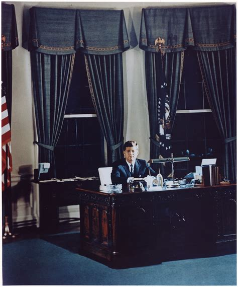 white house oval office desk file portrait of president kennedy at his desk white
