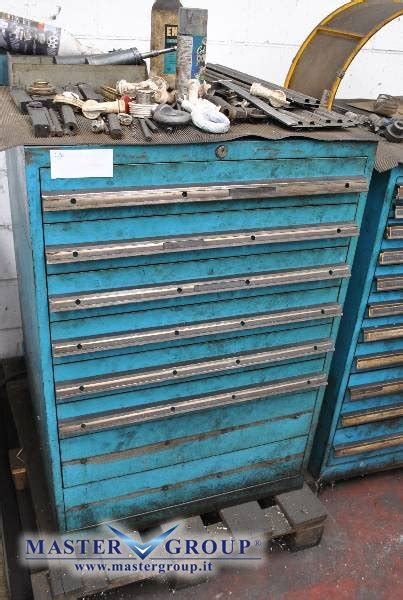 cassettiere portautensili usate scheda tecnica varie arredo officina cassettiera usato