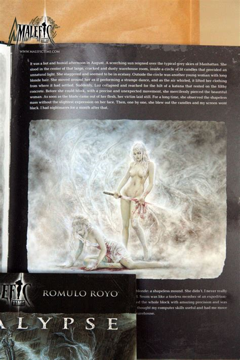 malefic time apocalypse norma editorial malefic time apocalypse in english malefic time luis royo romulo royo