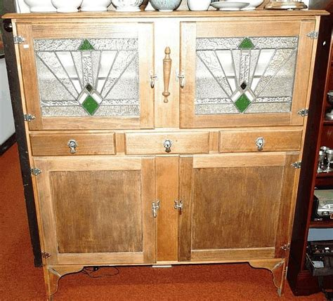 deco kitchen dresser with antiques jewellery