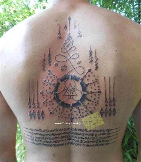 sak yant tattoos thai sak yant nederland sak yant and yantra