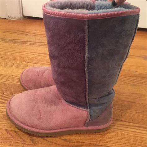 Uggs Patchwork - pink patchwork uggs