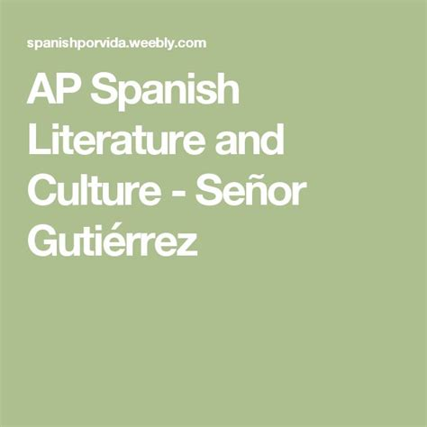 themes in hispanic literature best 20 ap spanish ideas on pinterest spanish website